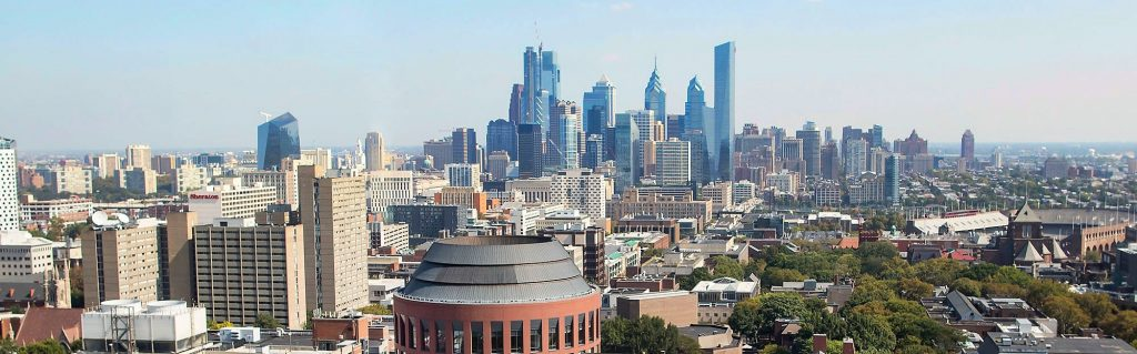 Philly skyline wide